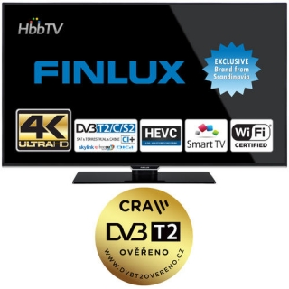 Finlux TV49FUB8061 - UHD SAT/ T2 SMART
