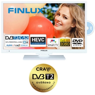 Finlux TV22FWDC5160-T2 SAT DVD SMART HBBtv